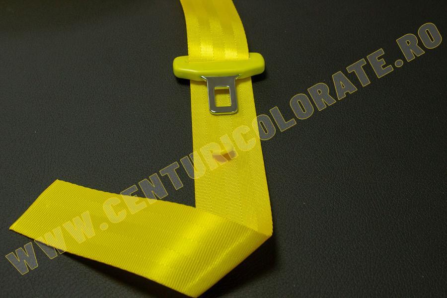 Centura siguranta galbena Opel Astra