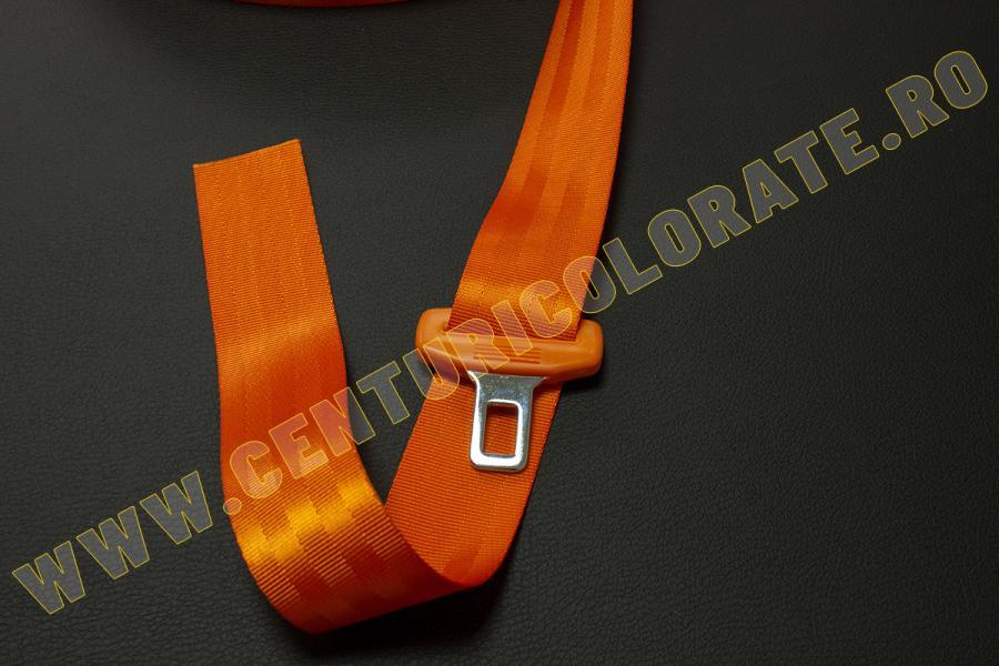 Centura siguranta portocalie Opel Combo